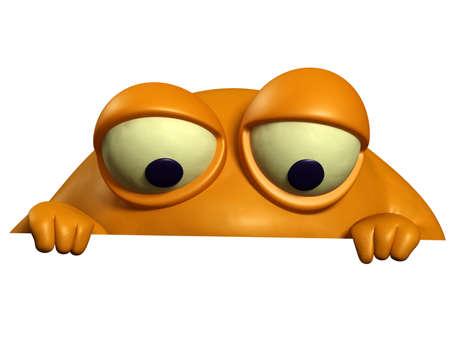 virus informatico: naranja monstruo