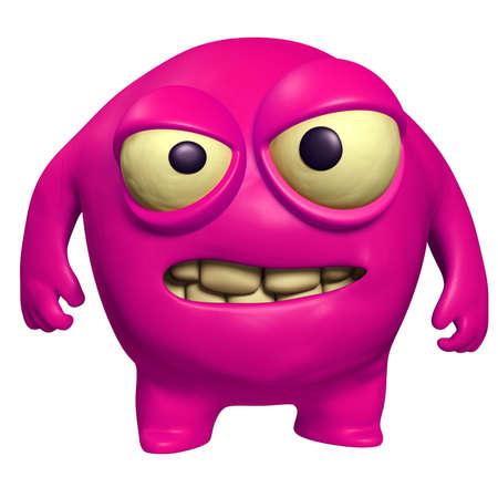 pink virus Stock Photo - 15743319