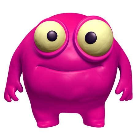 pink cute freak Stock Photo - 15743314