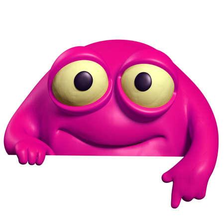 pink cute beast photo