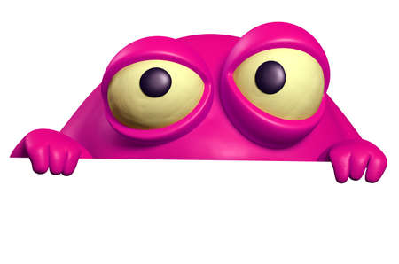 unicellular: mostro rosa