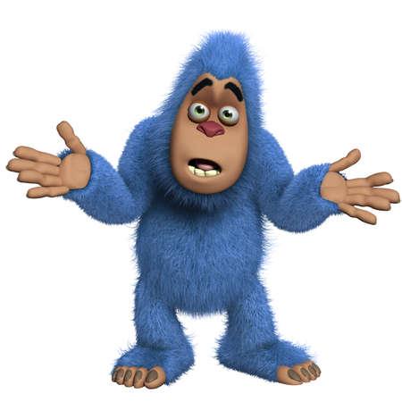 yeti: blau yeti