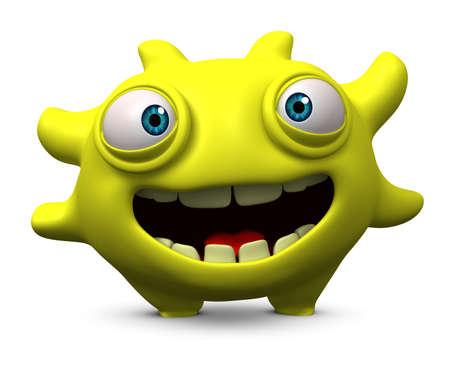 3d cartoon cute monster Stock Photo - 15810513