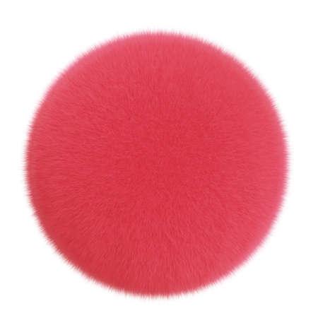 fuzz: 3d cartoon cute furry ball