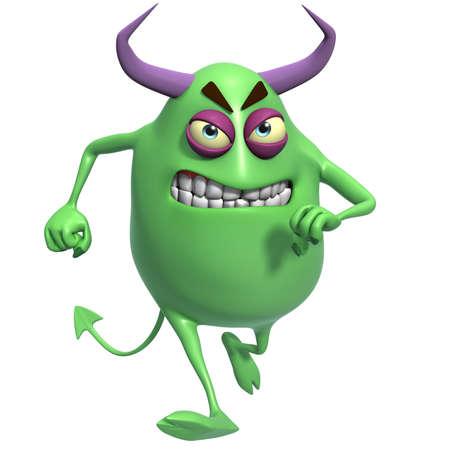 3d cartoon devil photo