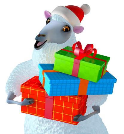 ewe: blue sheep Stock Photo