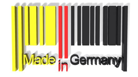 fabrication: 3D barcode made in Germany