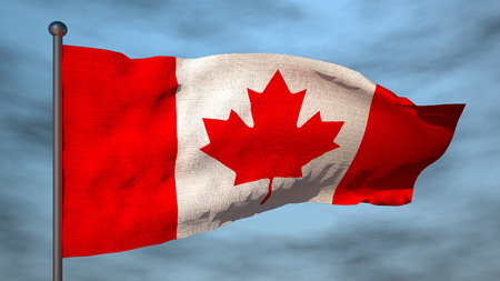 od: Flag od Canada