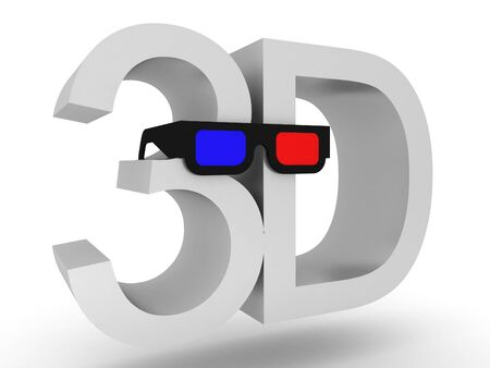 stereoscopic: 3d glasses