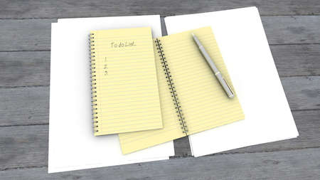to do list: Notepad with to do list template