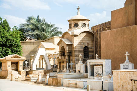 belief system: Churches in Old Egypt in Cairo, where Jesus and the Holy family are said to have spent several years of their lives.