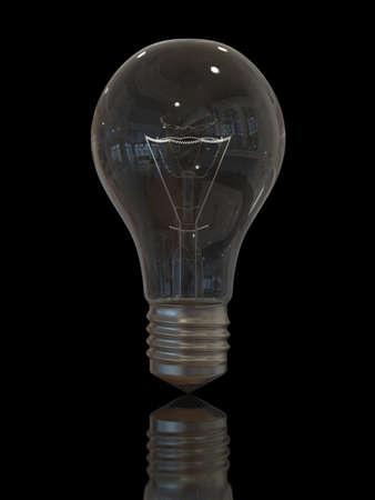 Old Light bulb Foto de archivo