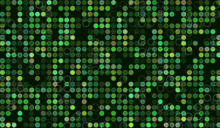 rainforest background: Abstract green background  Background with many circles  Beautiful as wallpaper