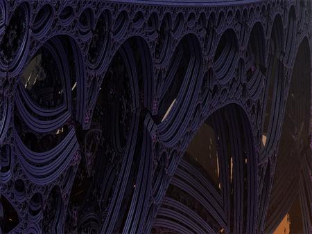 structured: Fantas�a Ciencia Ficci�n wallpaper contexto arquitect�nico y estructurado