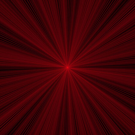 laser lights: The red laser lights with black background Stock Photo