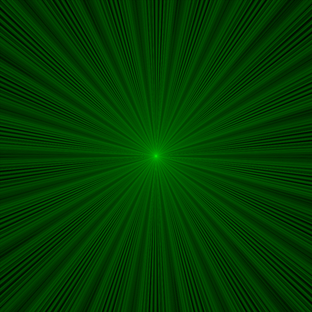The green laser lights with black background