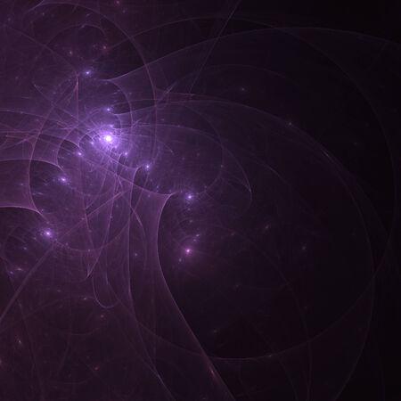 mauve: Abstract mauve fractal shapes on black background