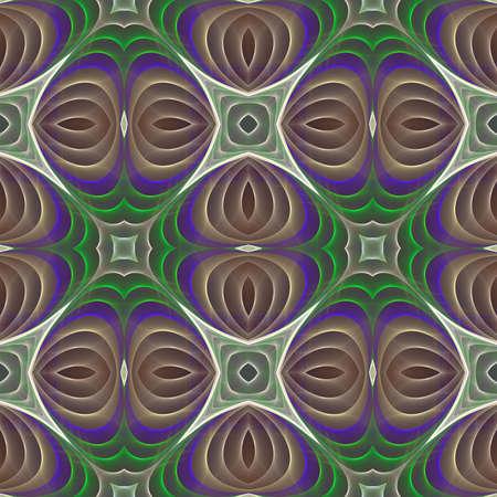 kaleidoscopic: Abstract kaleidoscopic background seamless pattern