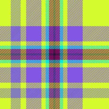Tile of colorful tartan seamless pattern photo