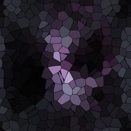 senseless: Abstract dark crazy mosaic mauve wallpaper picture Stock Photo