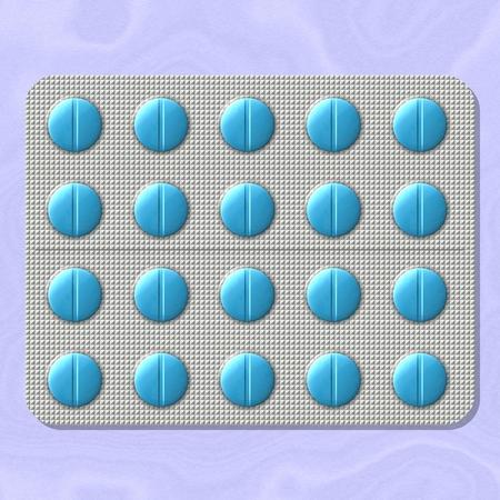 plato: Some general medicaments, colored pills in plato