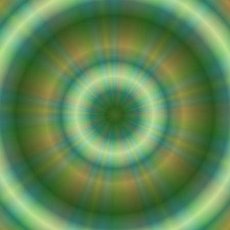 circulos concentricos: C�rculos conc�ntricos de colores abstractos Niza y locos Foto de archivo