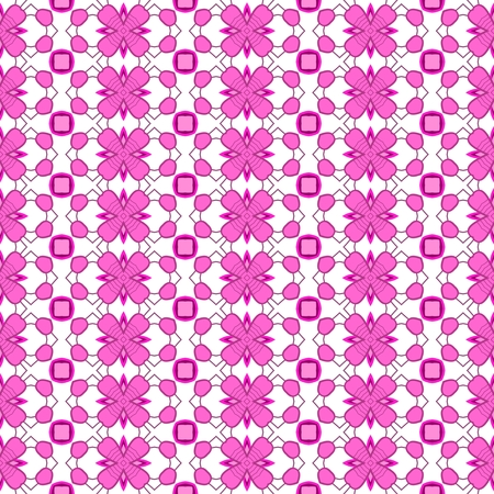 tile able: Abstract kaleidoscopic background as infinite seamless pattern Stock Photo