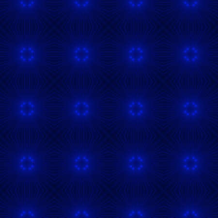 blue backgrounds: Abstract kaleidoscopic background as infinite seamless pattern Stock Photo