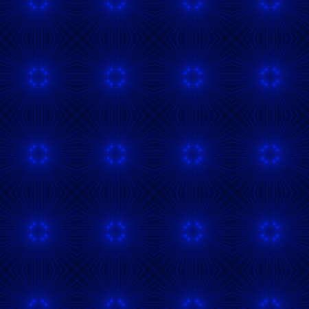 fondos azules: Fondo caleidoscópico abstracto como modelo inconsútil infinito