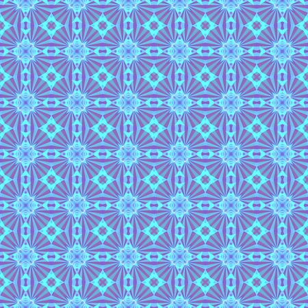 kaleidoscopic: Abstract kaleidoscopic background as infinite seamless pattern Stock Photo