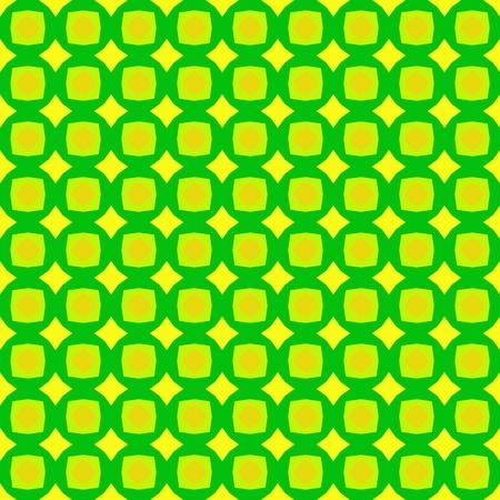 greenish: Abstract kaleidoscopic background as infinite seamless pattern Stock Photo