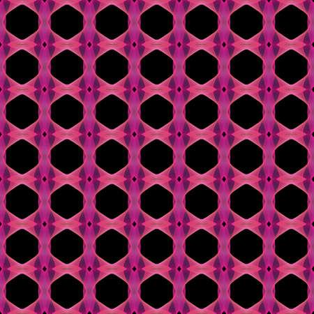 mauve: Abstract kaleidoscopic background as infinite seamless pattern Stock Photo