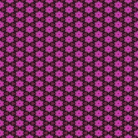 pinkish: Abstract kaleidoscopic background as infinite seamless pattern Stock Photo