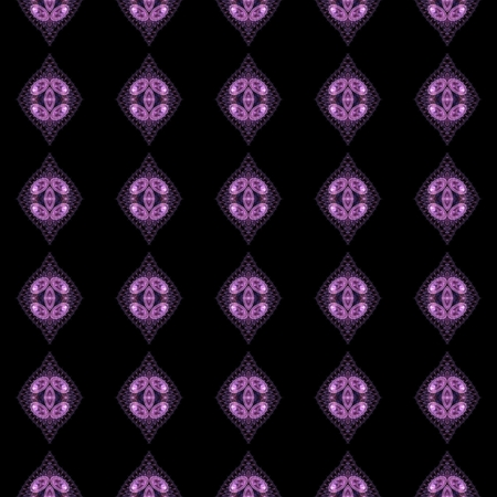 voilet: Abstract kaleidoscopic background as infinite seamless pattern Stock Photo