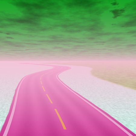 end of world: Toxic road to the end of world