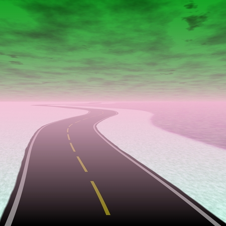 end of road: Toxic road to the end of world