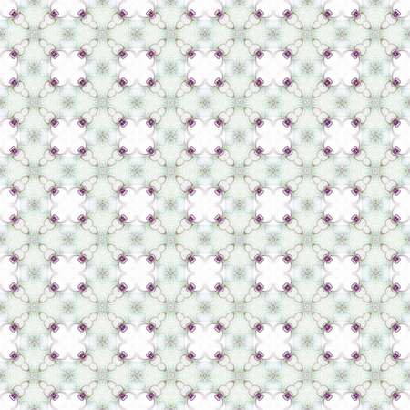ornamental background: Seamless pattern with abstract motif like a kaleidoscope