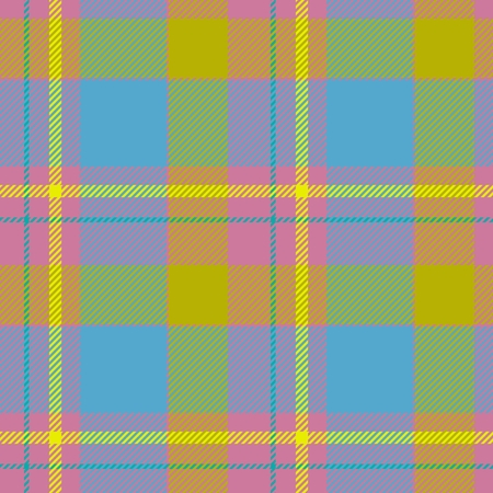 strip design: Tile of colorful tartan as seamless pattern Stock Photo
