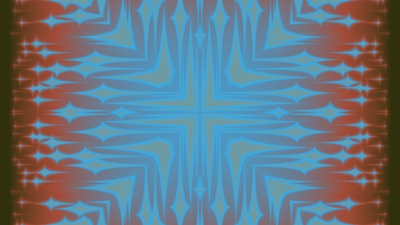 fanciful: Surreal abstract crazy background with many colors