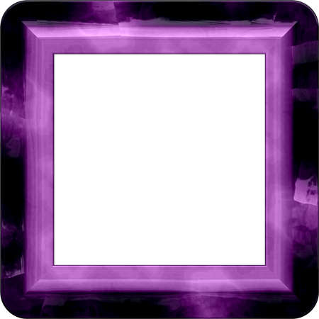 purl: Nice frame with rounded corners and place for picture Stock Photo