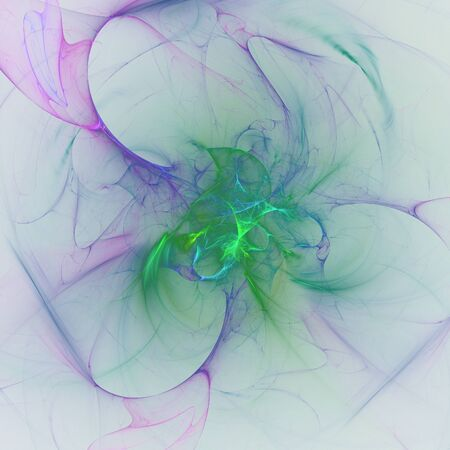 senseless: Nice abstract fractal wallpaper on white background