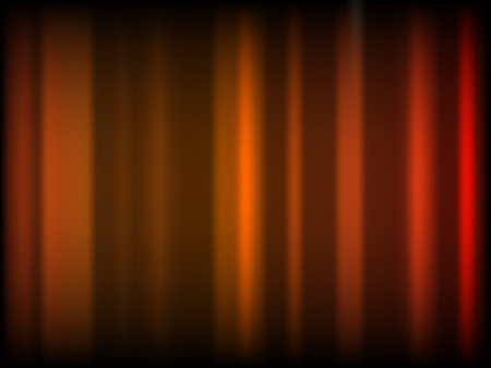 Abstract blurry wallpaper with many orangr colors Vector
