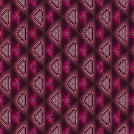 infinite: Abstract kaleidoscopic background as infinite seamless pattern Stock Photo