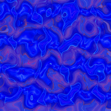 thaw: Crazy and chaotic abstract melted blue wallpaper