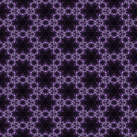 Seamless pattern with abstract motif like a kaleidoscope photo