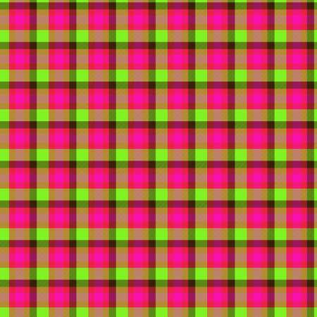 Tile of colorful tartan as seamless pattern Stock Photo