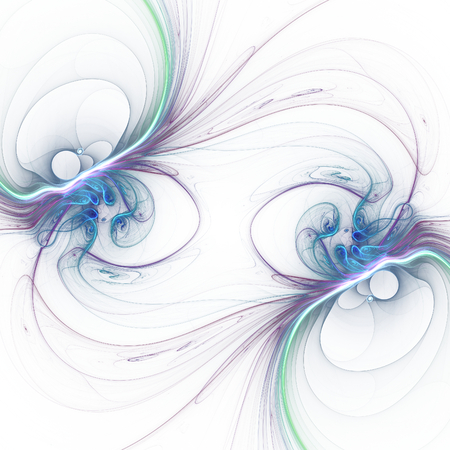 tomfool: Nice abstract fractal wallpaper on white background