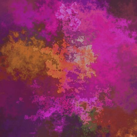 pinkish: Crazy abstract melted colorful shapes as wallpaper