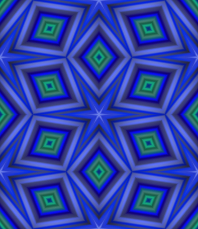 psychedelia: Seamless pattern with abstract motif like a kaleidoscope