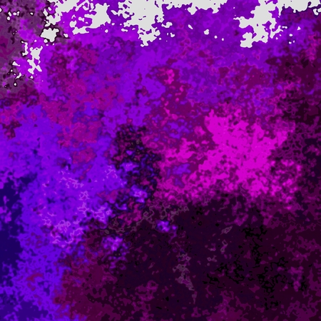 delirium: Crazy abstract melted colorful shapes as wallpaper